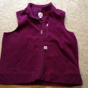 Carhart Zip Fleece Vest